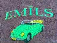 Kabriolets zaļais