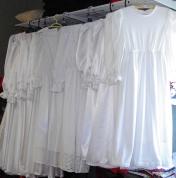 Baznīcas kleitas baltas