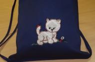 Sporta somiņa ar kaķēnu!