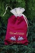 Dāvanu maisiņš ar gulbīšiem